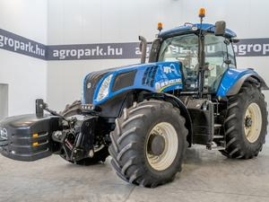 New Holland T8.390 (4349 моточасовe), €74 500